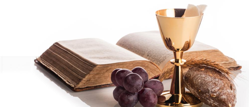 Hostie Kelch Brot Bibel
